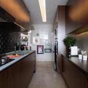 复式楼大型厨房