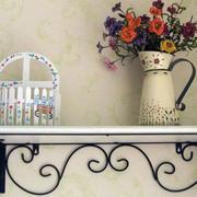 阳台简约风格架子装饰