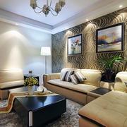 美式现代化复式楼沙发设计