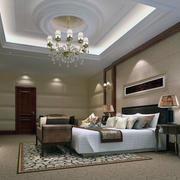 现代卧室造型搭配