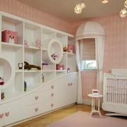 欧式浅色儿童房房间装修