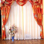 自然风格窗帘设计图片