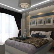 精美卧室窗帘设计