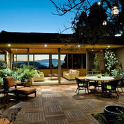 精致奢华的别墅阳台