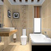 卫生间浴室设计图