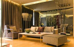 造型各异的现代客厅落地灯效果图