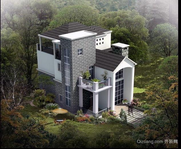 现代简约农村小别墅设计图