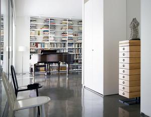 大户型精致书房设计装修效果图