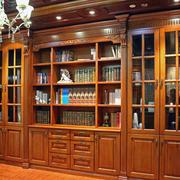 书香气息书柜装修设计