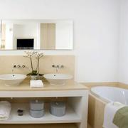 欧式简约风格浴室装修