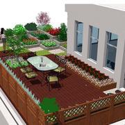 休闲娱乐的阳台设计