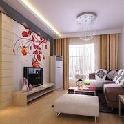 粉色调客厅装修设计