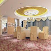 现代宾馆餐厅图