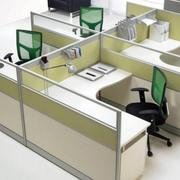 简约风格办公桌隔断