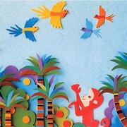 幼儿园墙面形象贴图