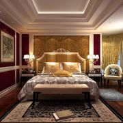 传统风格卧室装修图片