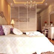 暖色调婚房装修设计