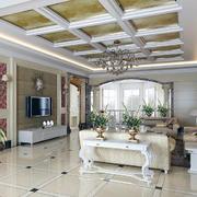 现代唯美的客厅搭配图