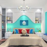卧室床铺整体设计