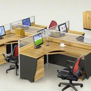 小型办公室办公桌装饰
