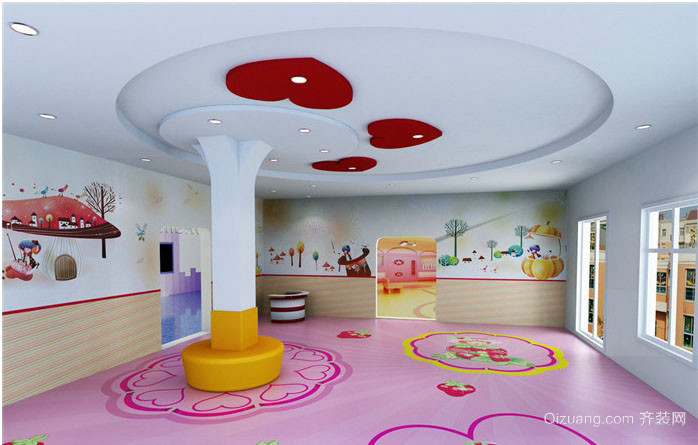 幼兒園墻面壁紙欣賞