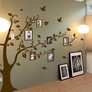 图画式创意照片墙效果图