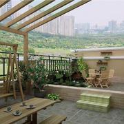 享受自然的阳台展示