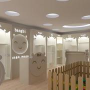 欧式卡通儿童服装店设计