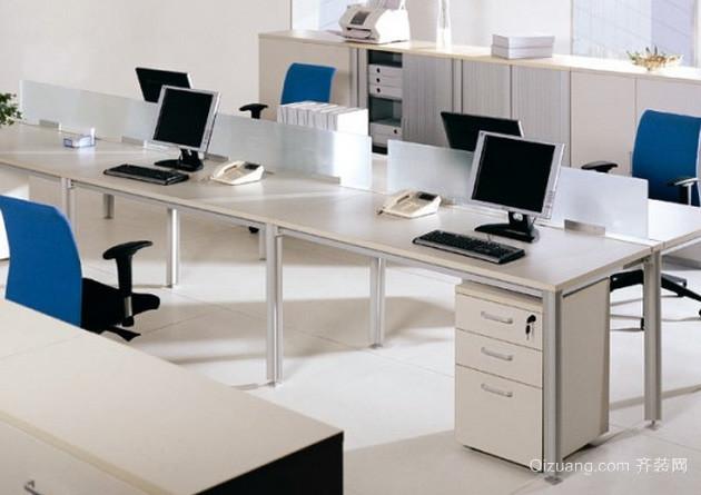 各种样式都市备受青睐的办公桌装修效果图