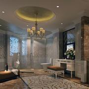现代宾馆卫生间吊顶图