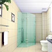 卫生间背景墙色调搭配