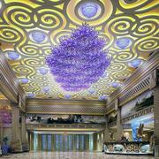宾馆吊顶图案设计