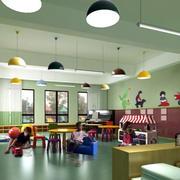 幼儿园教室墙面展示
