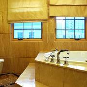 简欧风格奢华浴室装饰