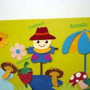 幼儿园学习墙面文化