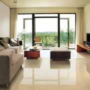 后现代风格客厅浅色瓷砖设计