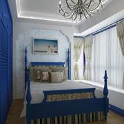 精美卧室窗帘图案设计