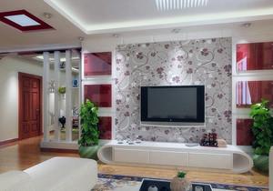 大户型客厅整体效果图