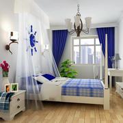 唯美舒适的卧室窗帘图