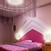 粉色调婚房装修设计