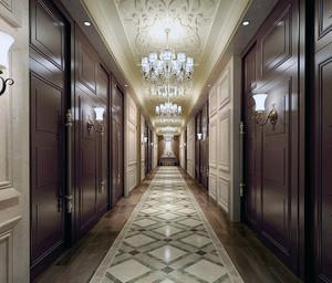 宾馆走廊设计图