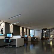 办公室简约吊顶欣赏