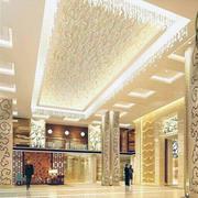 宾馆吊顶灯光设计