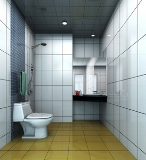 卫生间木地板效果图
