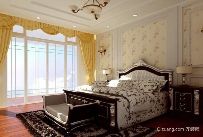 100平米简洁型小卧室装修效果图