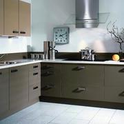 韩式简约风格厨房整体橱柜设计