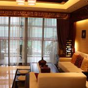 客厅落地窗装修设计