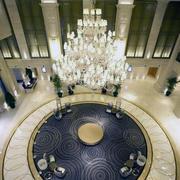 精美的宾馆吊灯图