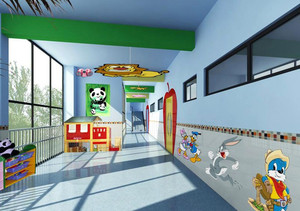 幼儿园走廊墙面贴纸