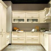 韩式田园风格厨房橱柜设计
